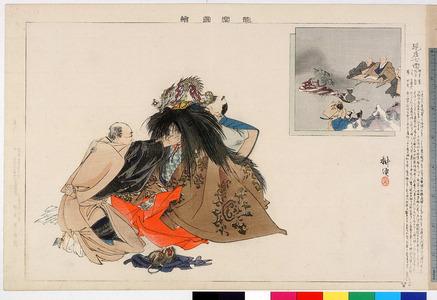Tsukioka Kogyo: 「能楽図絵」「現在七面」 - Ritsumeikan University