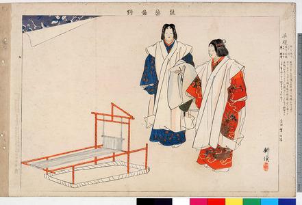 Tsukioka Kogyo: 「能楽図絵」「呉服」 - Ritsumeikan University