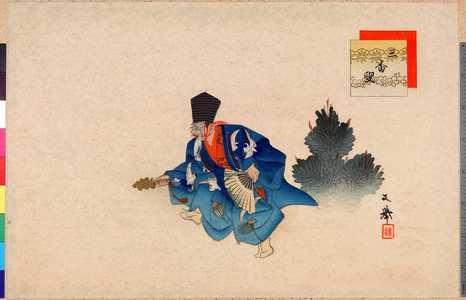 文挙: 「三番叟」 - Ritsumeikan University