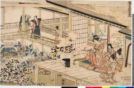 Katsushika Hokusai: 「仮名手本忠臣蔵 四段目」 - Ritsumeikan University