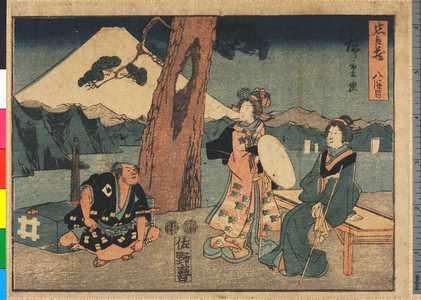 Utagawa Hiroshige: 「忠臣蔵 八段目」 - Ritsumeikan University