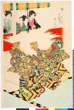 Toyohara Chikanobu: 「徳川時代貴婦人」「能上覧之図」 - Ritsumeikan University