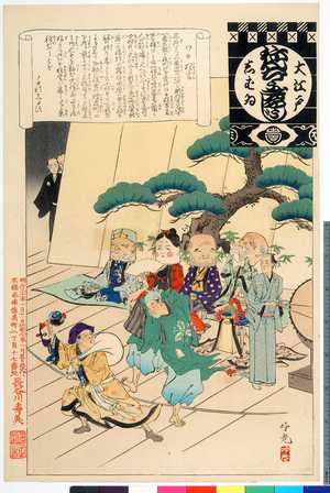 Adachi Ginko: 「大江戸しばゐねんぢうぎゃうじ」「ワキ狂言」 - Ritsumeikan University