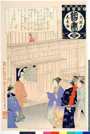安達吟光: 「大江戸しばゐねんぢうぎゃうじ」「楽屋入り」 - 立命館大学