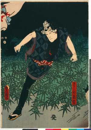 Utagawa Kunisada: 「わしの長吉」 - Ritsumeikan University