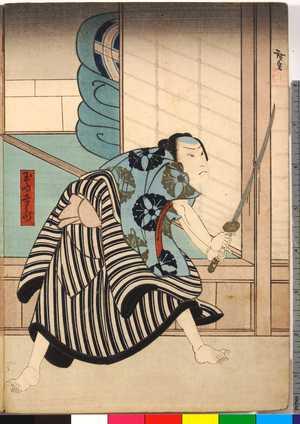 Utagawa Hirosada: 「玉島幸兵衛」 - Ritsumeikan University