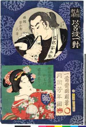 Tsukioka Yoshitoshi: 「真像劇場 伊呂波一対」 - Ritsumeikan University