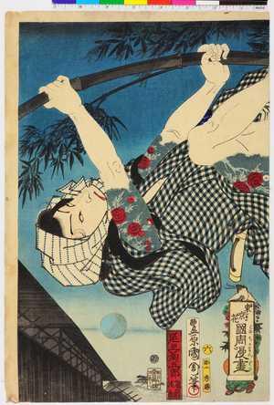 Toyohara Kunichika: 「東京花国周漫画」 - Ritsumeikan University
