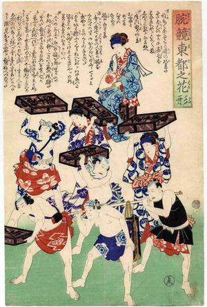 Unknown: 「腕競東都之花形」 - Ritsumeikan University
