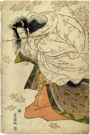 Utagawa Toyokuni I: 「坂東彦三郎」 - Ritsumeikan University