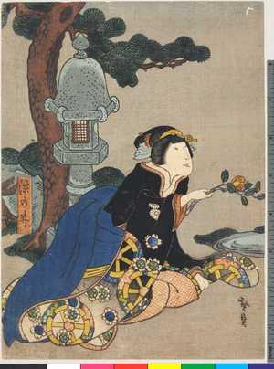 Utagawa Hirosada: 「染の井」 - Ritsumeikan University