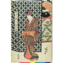 Utagawa Kunisada: 「頼兼公 瀬川菊之丞」 - Ritsumeikan University