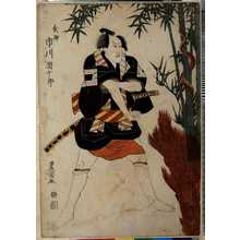 Utagawa Toyokuni I: 「武助 市川団十郎」 - Ritsumeikan University