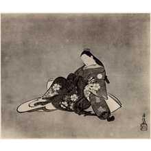 Torii Kiyomasu I: (美人図) - Ritsumeikan University