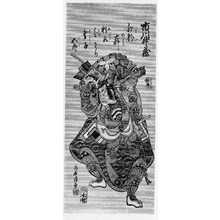 Torii Kiyoshige: 「市川升蔵」 - Ritsumeikan University