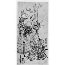 Torii Kiyonobu II: 「中村伝九郎 中村長十郎」 - Ritsumeikan University