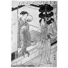 Suzuki Harunobu: 「浮世美人寄花」 - Ritsumeikan University