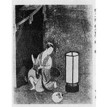 Suzuki Harunobu: (蚊帳) - Ritsumeikan University