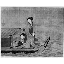 湖龍斎: (船遊び) - 立命館大学