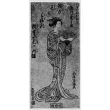 Torii Kiyomitsu: 「八百屋おすぎ 瀬川菊之丞」 - Ritsumeikan University