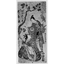 Torii Kiyomitsu: 「市川菊之丞 おのへのまへ」「坂東彦三郎 八まんた郎」 - Ritsumeikan University