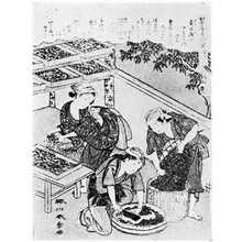Katsukawa Shunsho: (かいこやしない草 第三) - Ritsumeikan University