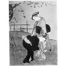 Suzuki Harunobu: (蝶) - Ritsumeikan University