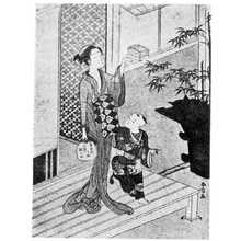 Suzuki Harunobu: (虫かご) - Ritsumeikan University
