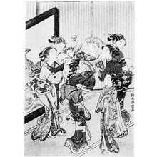 Suzuki Harunobu: (大黒と美人) - Ritsumeikan University
