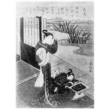 Suzuki Harunobu: (杜若) - Ritsumeikan University