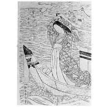 Suzuki Harunobu: (官女玉虫) - Ritsumeikan University