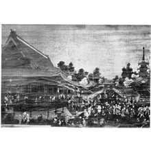 Utagawa Toyoharu: (浅草寺図) - Ritsumeikan University
