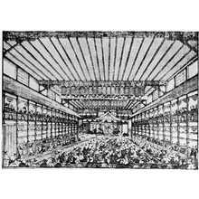 Utagawa Toyoharu: 「中村座場内図」 - Ritsumeikan University