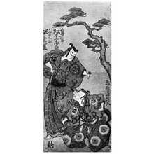 Torii Kiyotsune: 「松本幸四郎」「坂東彦三郎」 - Ritsumeikan University