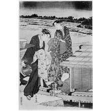 勝川春潮: (涼み船) - 立命館大学