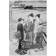 Katsukawa Shuncho: (涼み船) - Ritsumeikan University