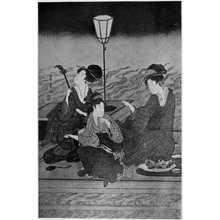 Utagawa Toyohiro: (床の涼み) - Ritsumeikan University