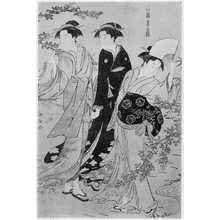Torii Kiyonaga: 「風俗東之錦 萩の流」 - Ritsumeikan University