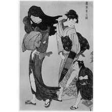 Torii Kiyonaga: 「風俗東之錦 凩の糸」 - Ritsumeikan University
