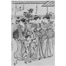 Torii Kiyonaga: (牡丹 中) - Ritsumeikan University