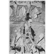 Torii Kiyonaga: (再咲花娘道成寺) - Ritsumeikan University
