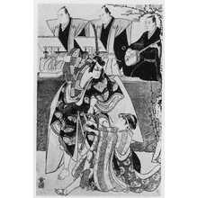 Torii Kiyonaga: (やつし草摺引) - Ritsumeikan University