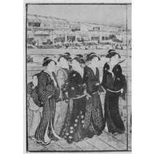 Katsukawa Shuncho: (日本橋) - Ritsumeikan University