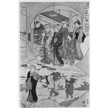 勝川春潮: 「十二候六枚続 五」 - 立命館大学