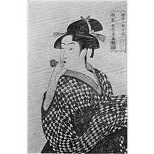 喜多川歌麿: 「婦女人相十品」 - 立命館大学