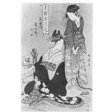 Kitagawa Utamaro: 「青楼雪月花」 - Ritsumeikan University