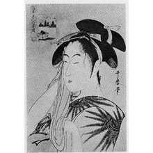 喜多川歌麿: 「高名美人六花選」「富本豊雛」 - 立命館大学