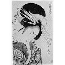 Kitagawa Utamaro: 「青楼七小町」「玉屋内明石」 - Ritsumeikan University