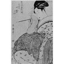 Kitagawa Utamaro: 「常時全盛美人揃」「玉屋小紫」 - Ritsumeikan University
