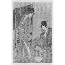 Kitagawa Utamaro: (猫) - Ritsumeikan University